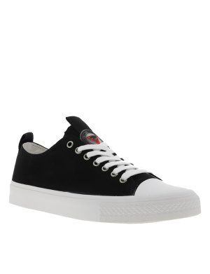 Baskets basses femme EDERLA LOW CUT noir