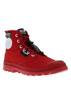 Boots mixtes PAMPA LITE OVERLAB rouge