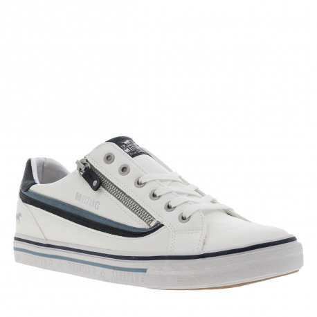 Baskets basses homme  blanc