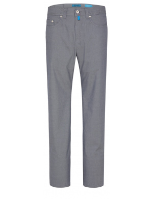 Pantalon uni homme bleu coupe tapered fit