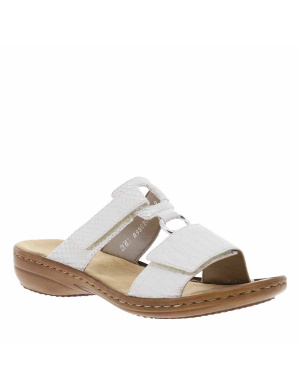 Mules femme blanches