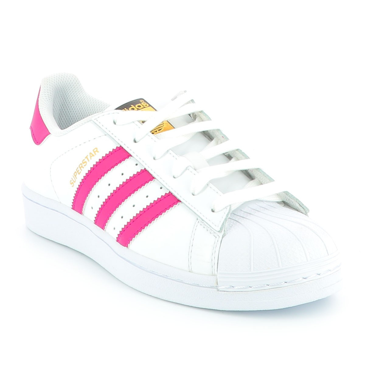nouvelle arrivee ad3fe 89f96 ADIDAS ORIGINALS Baskets Superstar fille rose