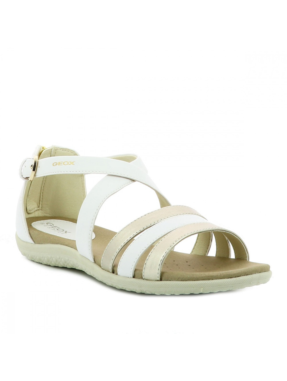 Chaussures nu-pieds femme blanc GEOX