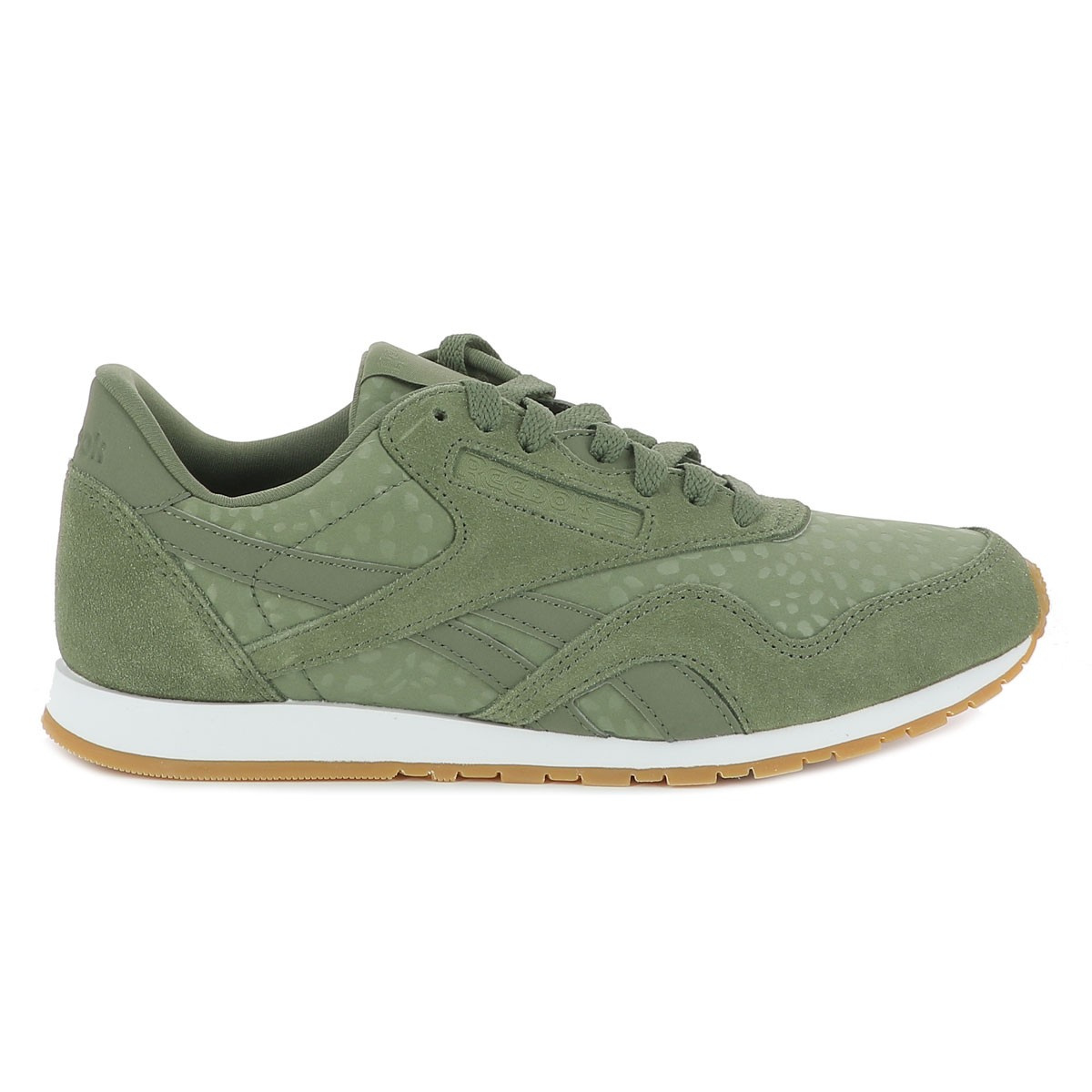 wholesale dealer 79506 e5a26 Baskets femme vert REEBOK CLASSIC