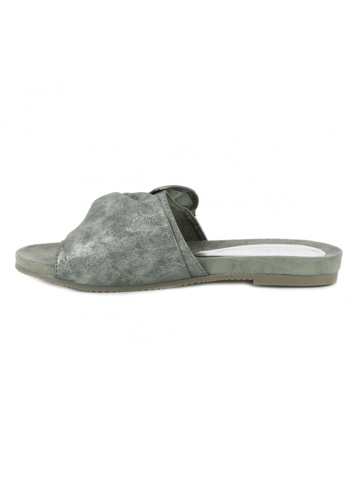 Chaussures nu-pieds femme gris TOM TAILOR