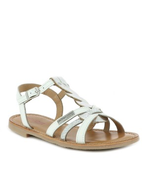 Chaussures nu-pieds fille blanc
