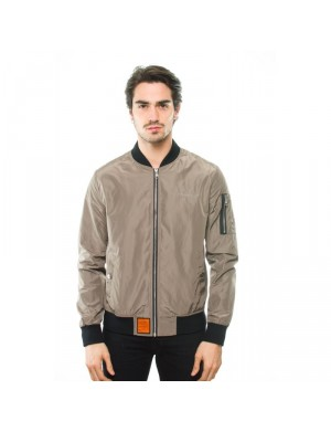 Blouson homme taupe