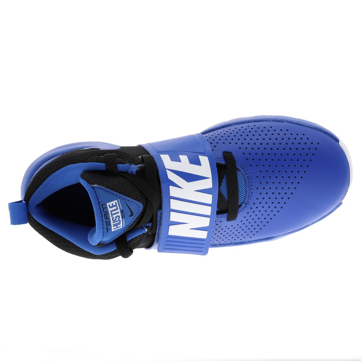 Baskets Bleu Garçon Nike Team Hustle USMVpGzq