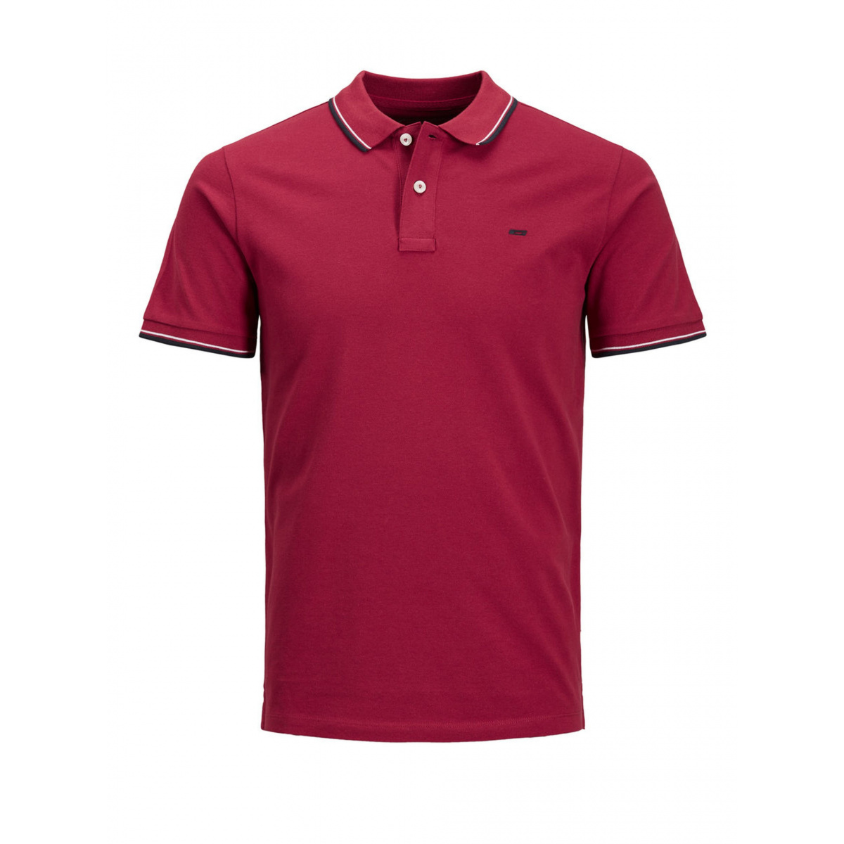 Homme Courtes Jones Manches Rouge Jackamp; Polo bgy7Yf6