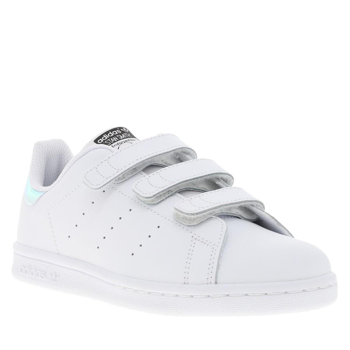 Baskets fille Adidas CCV Smith Stan Mode gris rqRxwFSr4