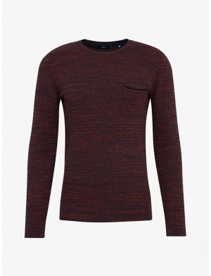 Pull homme rouge