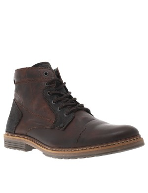 Boots homme rouge