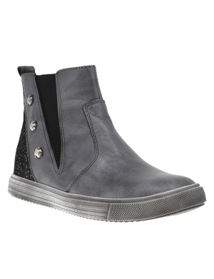 Boots fille gris