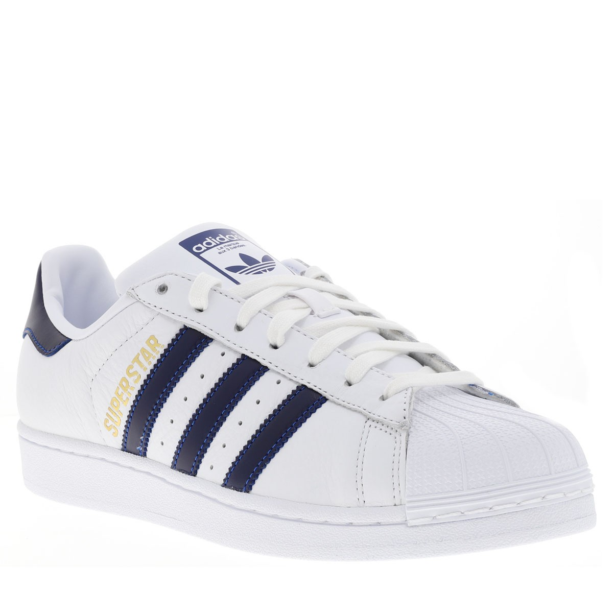 Baskets Superstar homme blanc ADIDAS