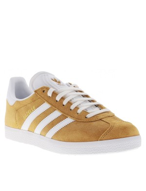 Baskets Gazelle homme orange