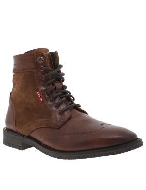 Boots Whitfield homme marron