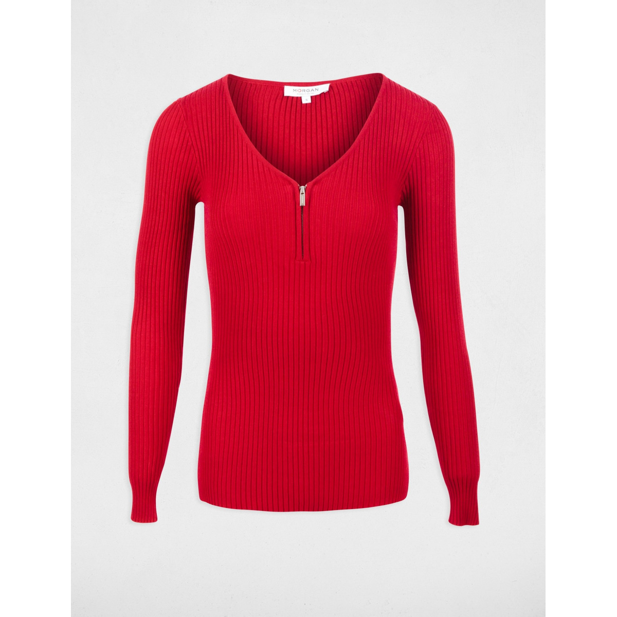 Rouge Pull Femme Morgan Mode Ccv Upx4waqx