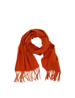 Echarpe homme orange