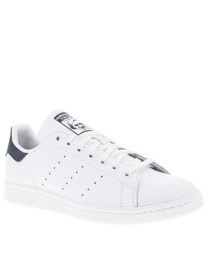 Baskets basses mixtes STAN SMITH cuir blanc