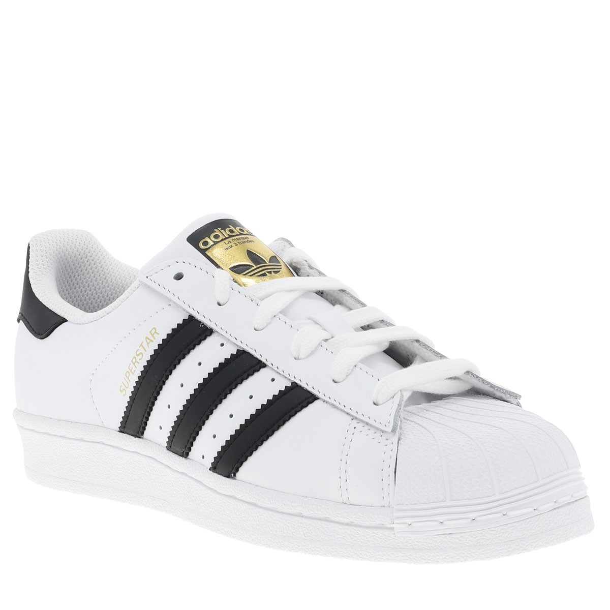 Baskets Superstar garçon blanc Adidas- CCV