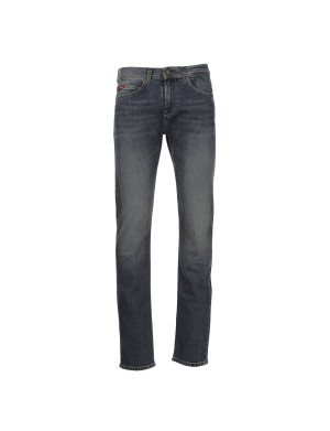 Jean LC122 straight homme bleu
