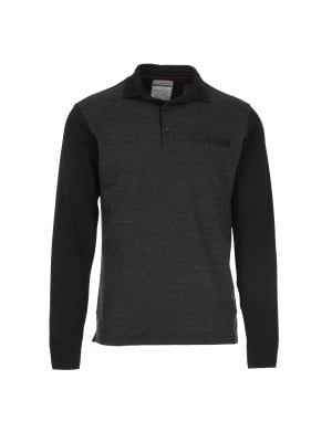 Polo Paggi manches longues homme gris