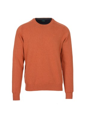 Pull Paluzza homme orange