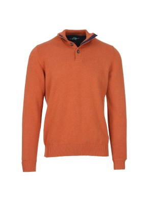 Pull Pago homme orange