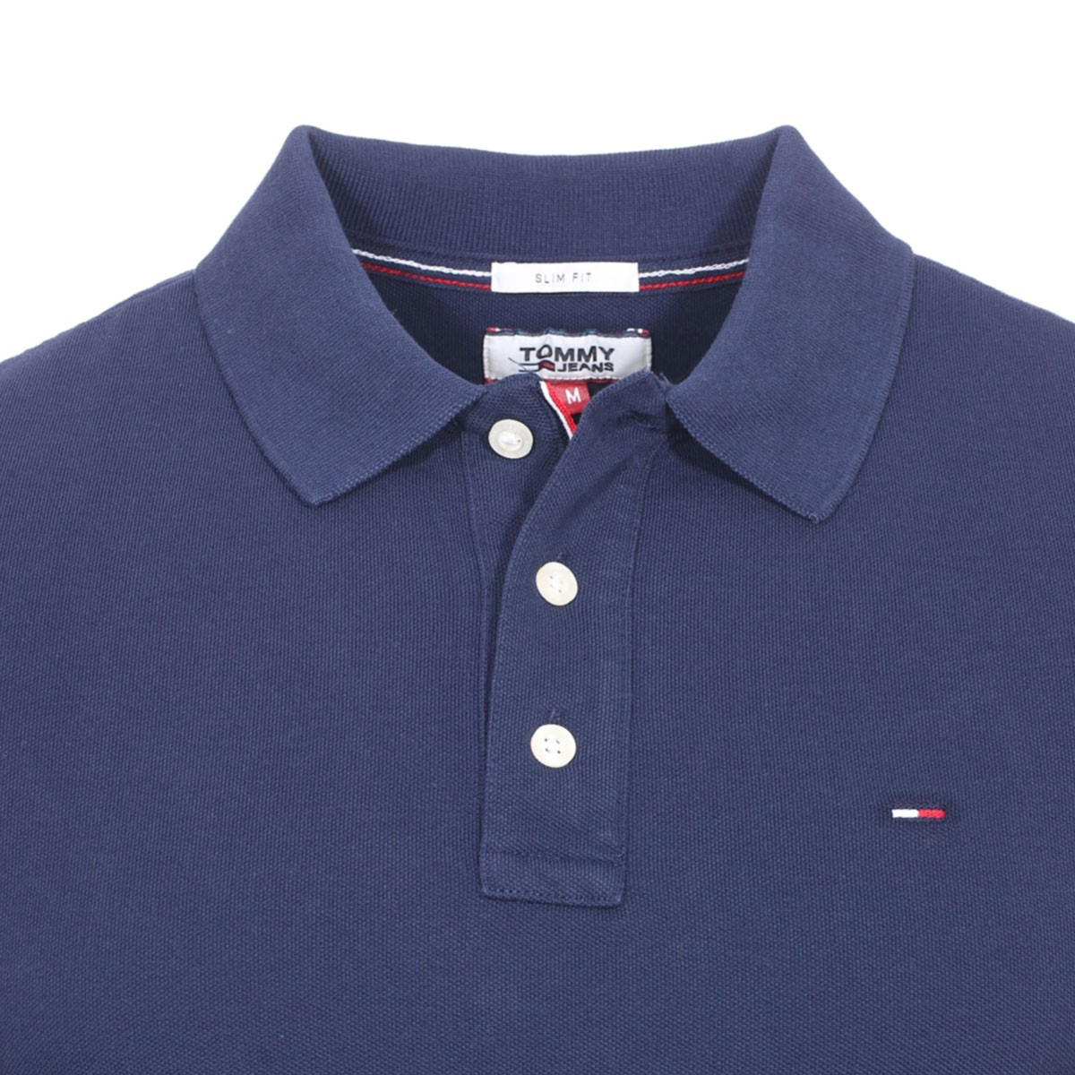 Polo manches courtes homme bleu TOMMY JEANS