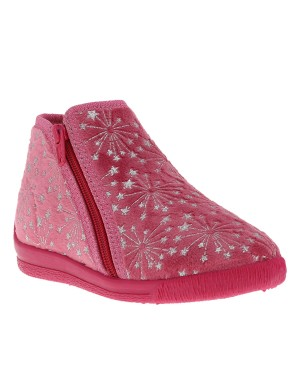 Chaussons Tella fille rose