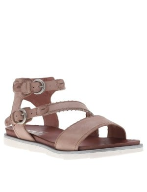 Chaussures nu-pieds femme rose