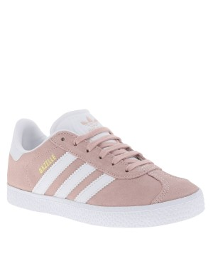 Baskets Gazelle fille rose