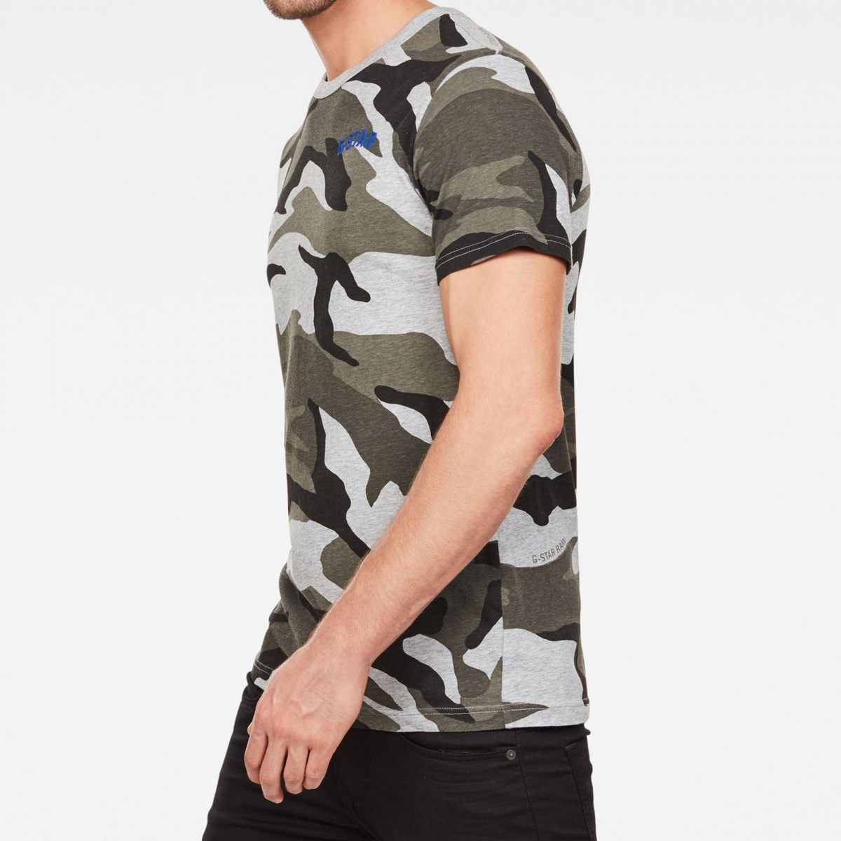 T-shirt manches courtes homme gris G-STAR RAW