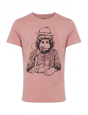 T-shirt manches courtes homme rose