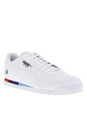 Baskets Roma BMW homme blanc