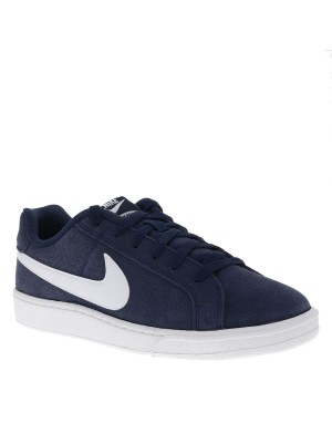 Baskets Court Royale Suede homme bleu