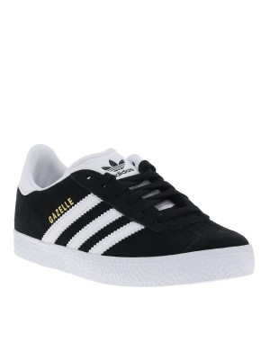 Baskets Gazelle fille noir