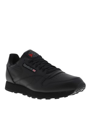 Baskets Classic Lether homme noir