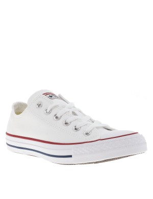 Baskets Chuck Tailor OX All Star mixte blanc
