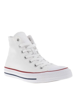 Baskets Chuck Tailor HI All Star mixte blanc