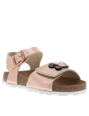 Chaussures nu-pieds fille rose