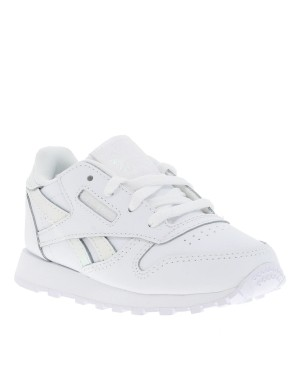 Baskets Classic Leather fille blanc