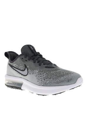 Baskets Air Max Sequent 4 garçon gris