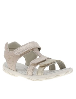 Chaussures nu-pieds S.Cuore fille beige