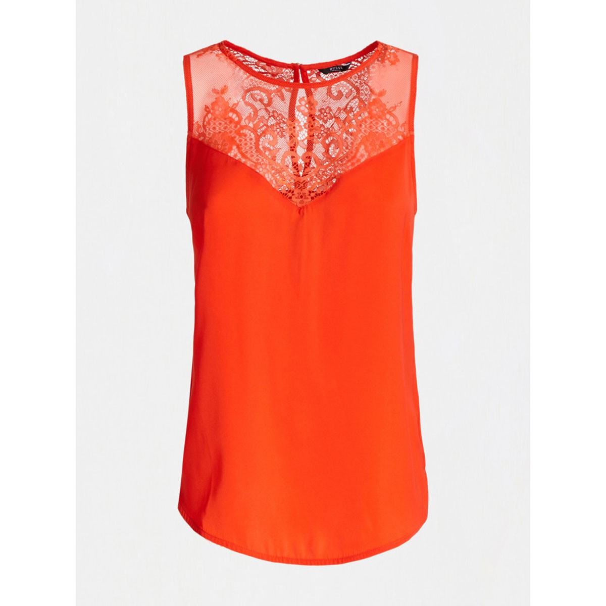 Top femme orange GUESS