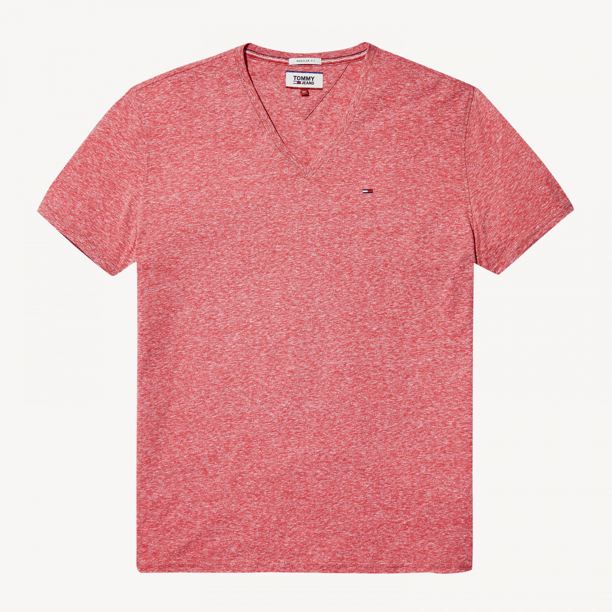 T-shirt manches courtes homme rouge TOMMY JEANS