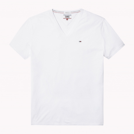 T-shirt manches courtes homme blanc TOMMY JEANS