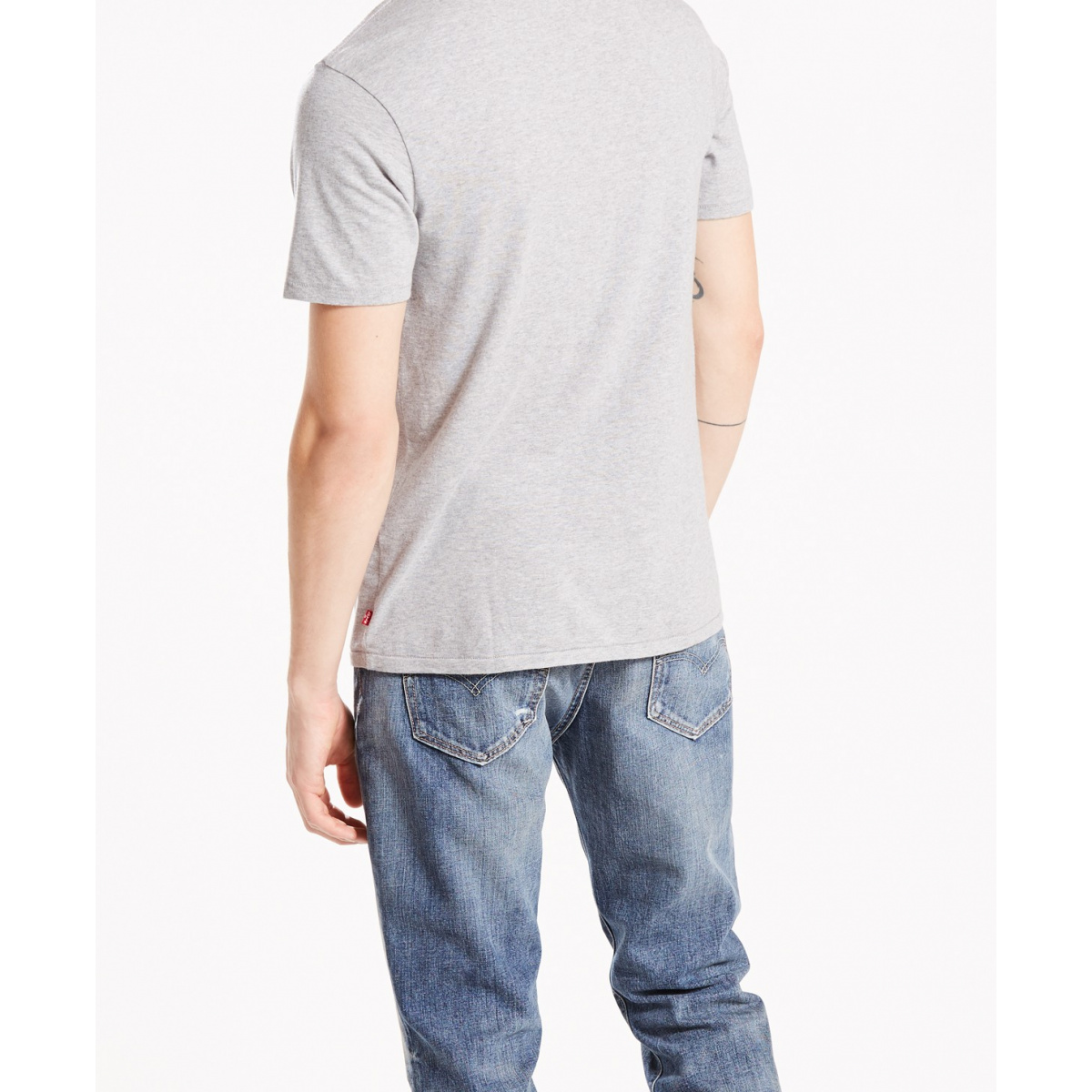7yfybg6 Gris Levi's® Courtes T Manches Ccv Shirt Mode Homme HWE9DI2
