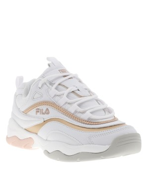 Baskets Ray F Low femme blanc