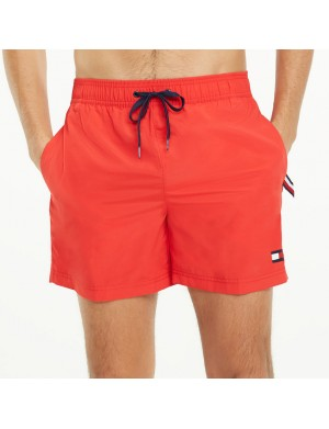 Short de bain homme rouge